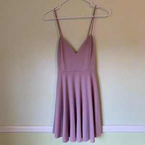 Urban outfitters backless skater dress